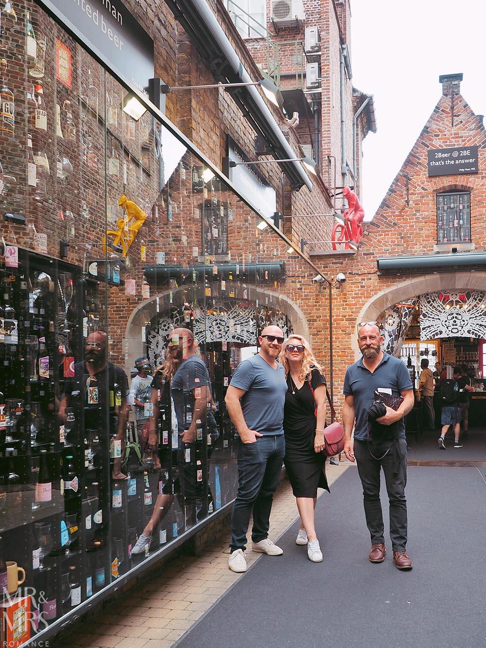 Bruges, Belgium - Wall of Beers