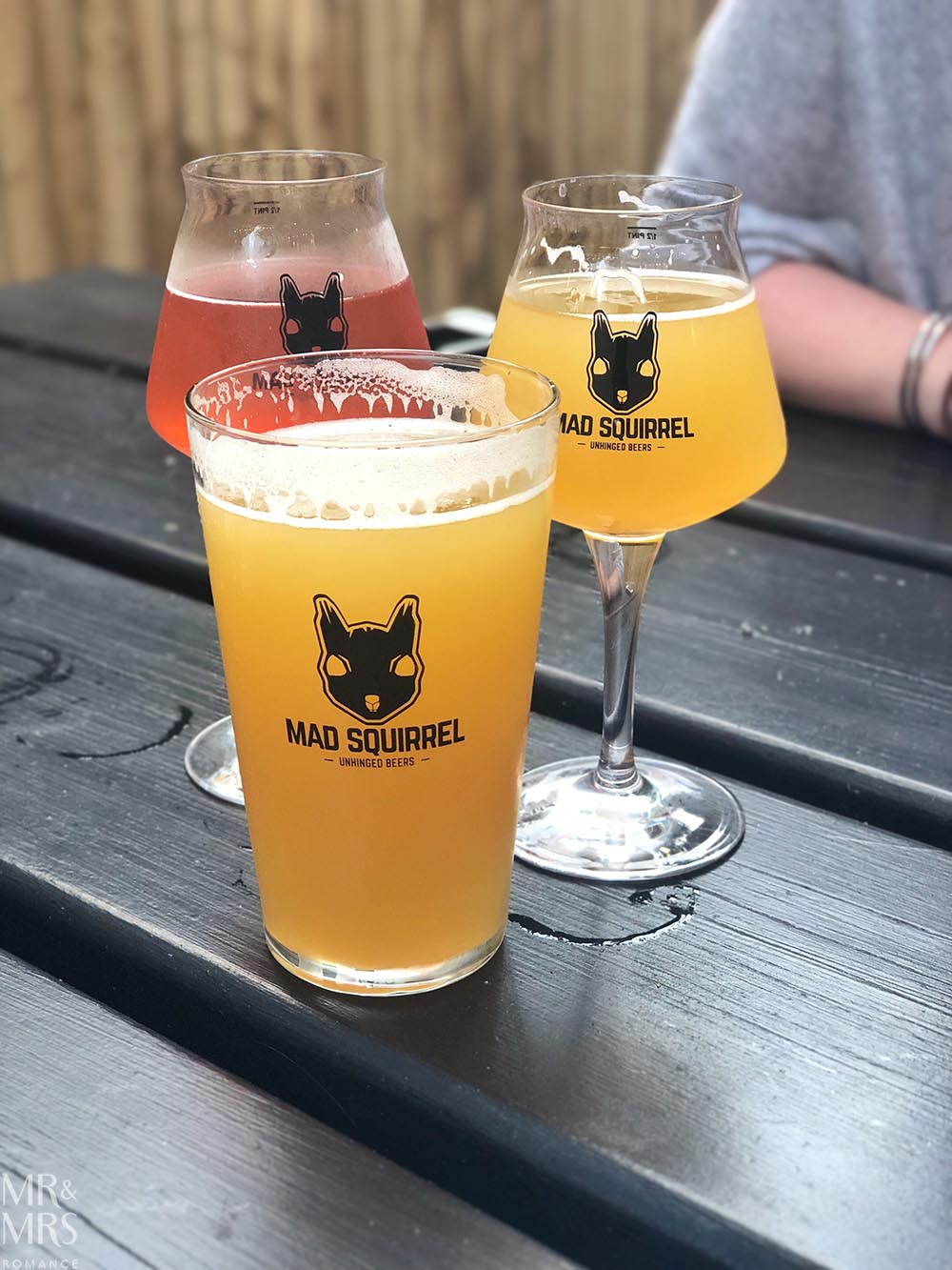 Mad Squirrel Brewery beers, St Albans