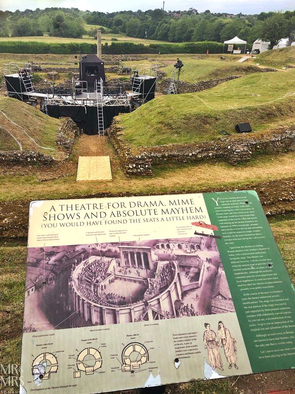 St Albans - Roman amphitheatre