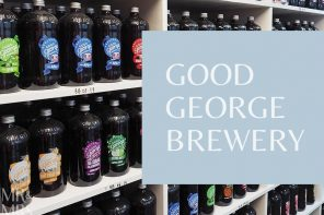 Where the beer gods smile down – Good George Brewery, New Zealand