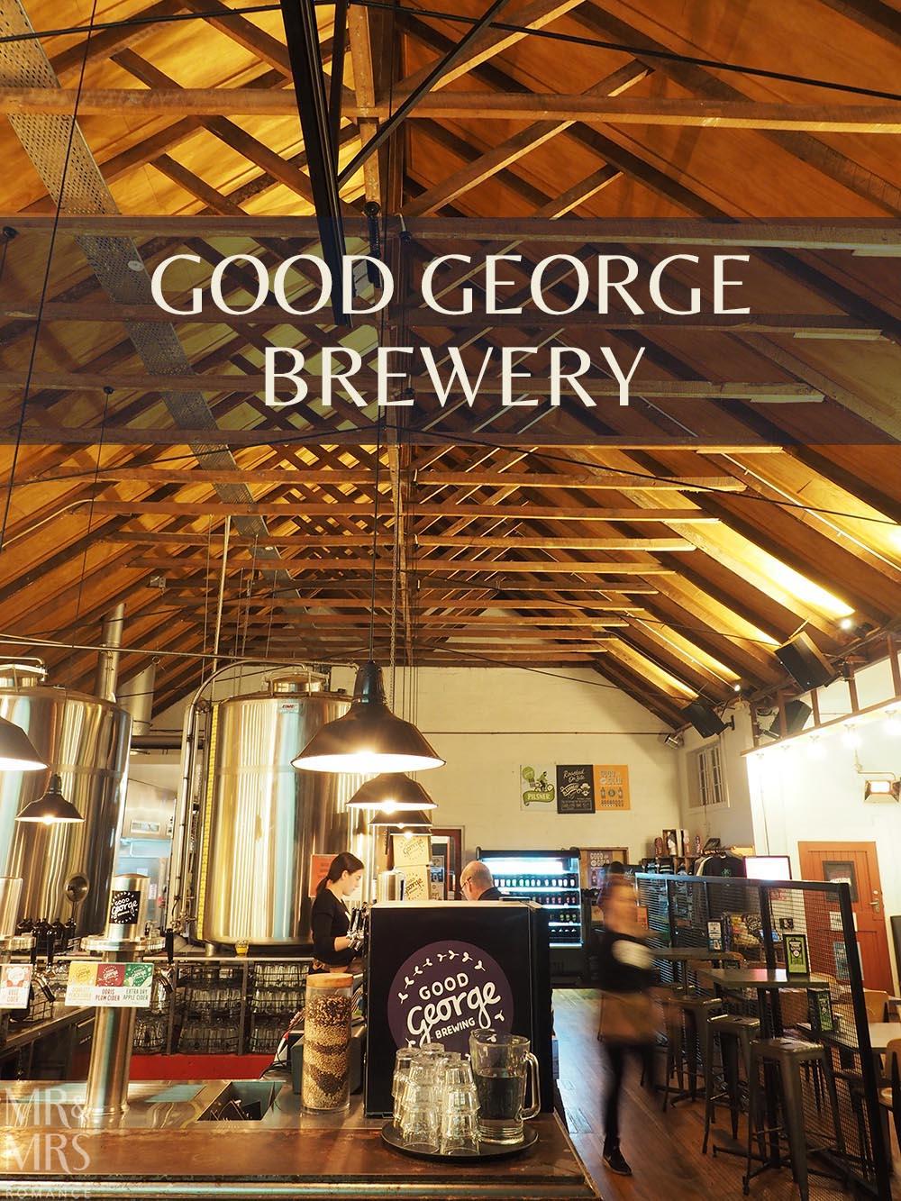 Good George Brewing, Hamilton, New Zealand