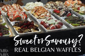 Sweet or savoury: how to eat real Belgian waffles