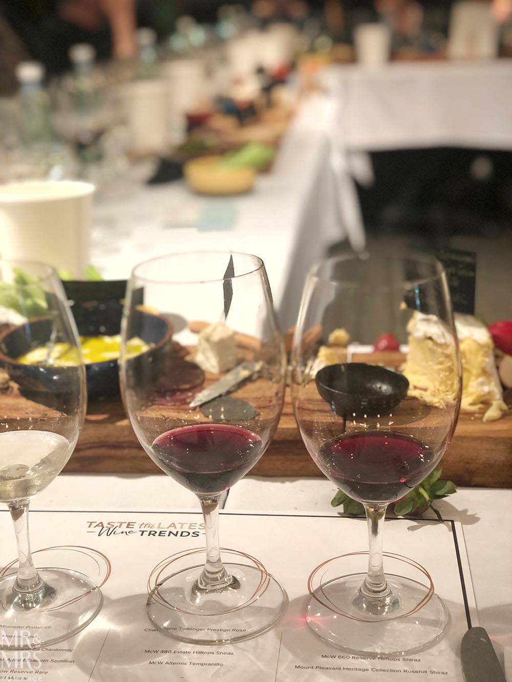 McWilliams wine trends masterclass
