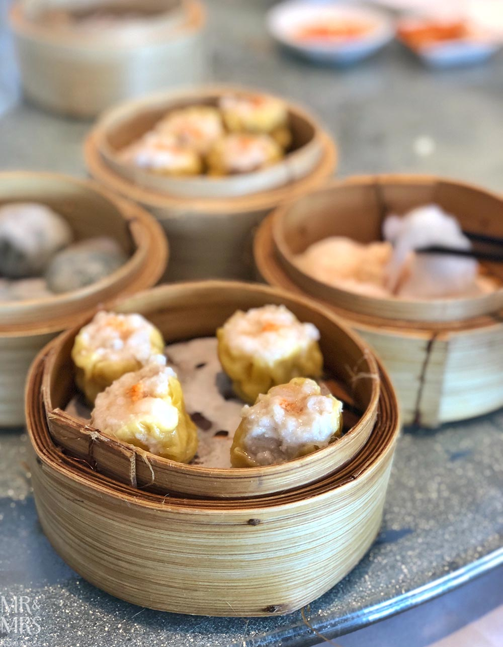 Yum cha at the Sydney Fish Markets