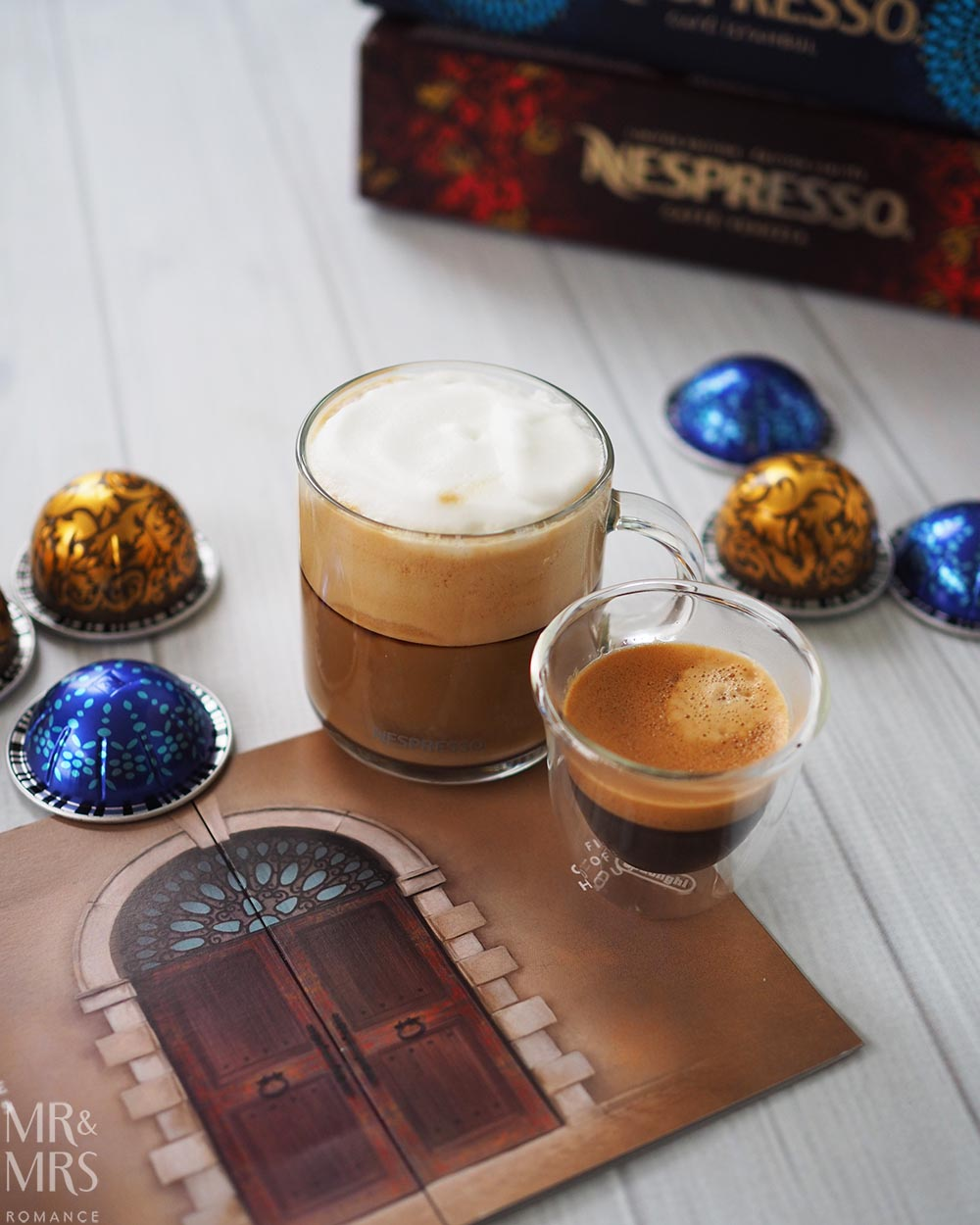 Nespresso new Venezio and Istanbul blends
