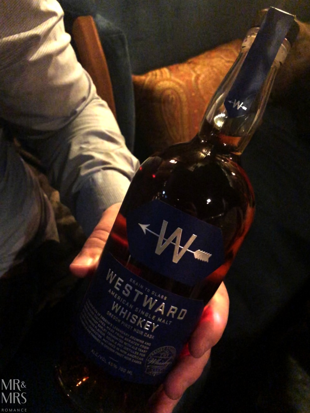 Westward Distillery single malt Pinot Noir expression