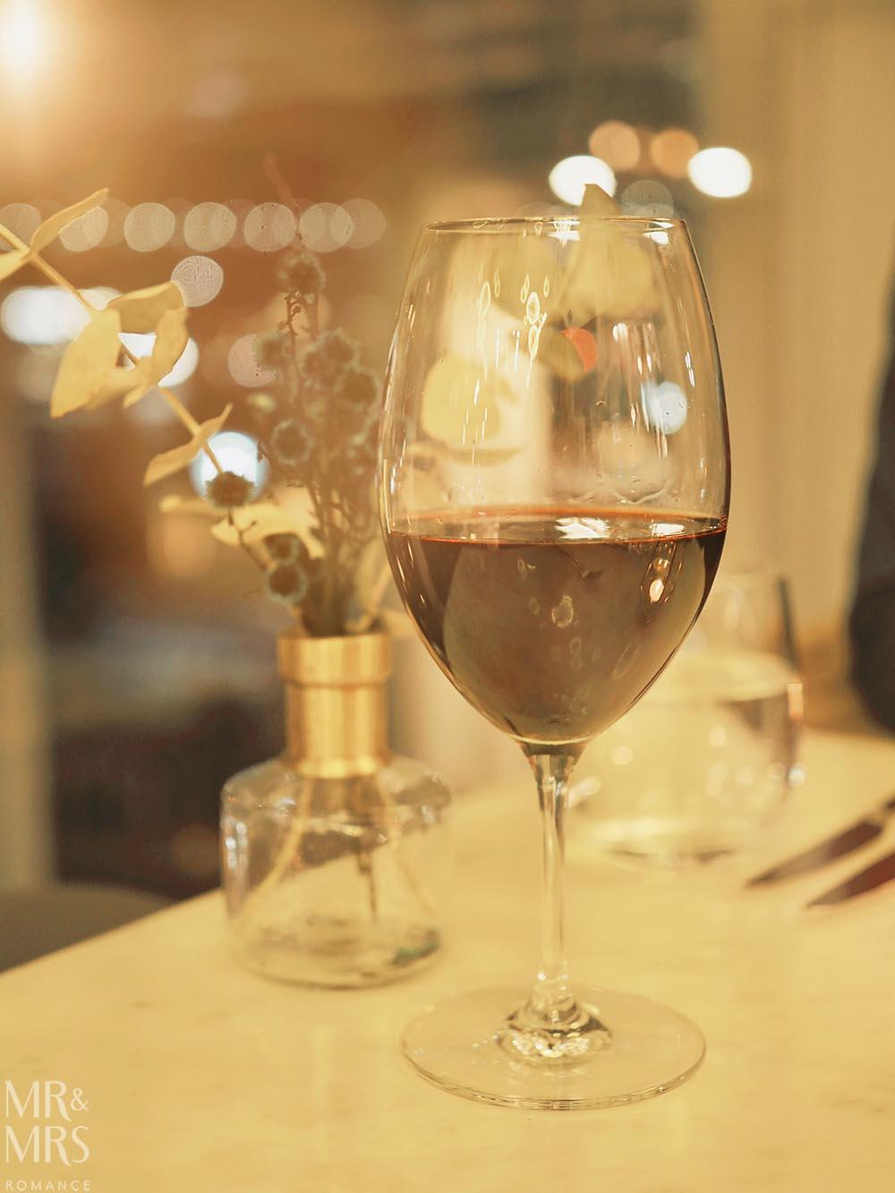 Q Dining - Tar & Roses shiraz