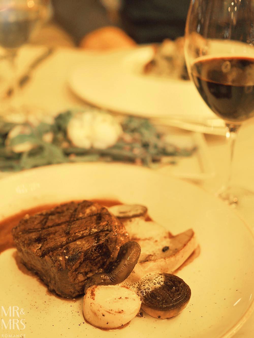 Q Dining - 52 degree King Island tenderloin of beef