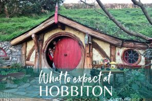 What we didn't expect in Hobbiton, NZ