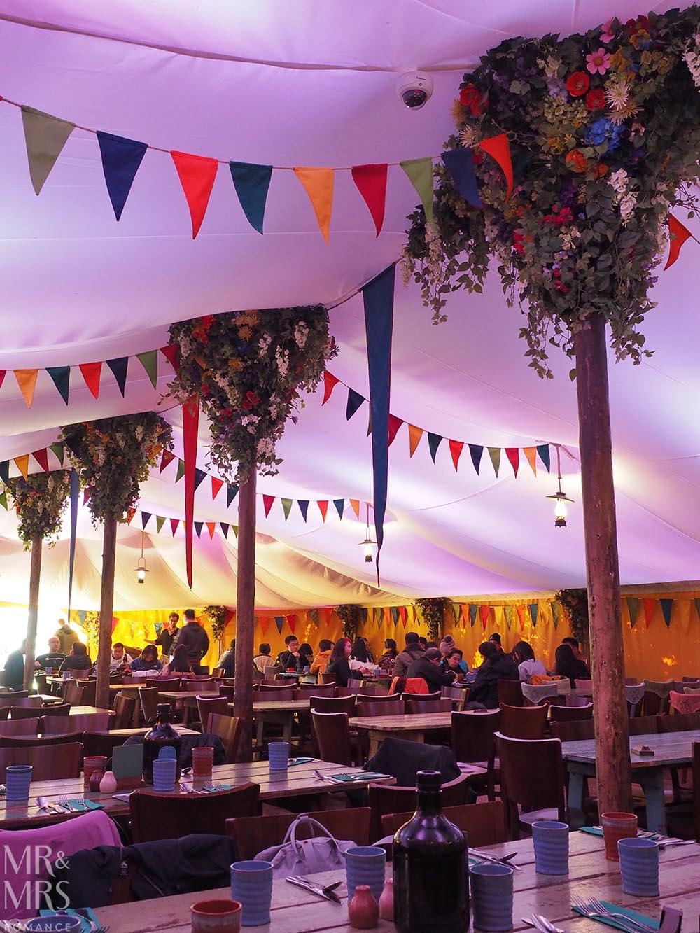 Hobbiton Movie Set, Waikato, New Zealand - the Party Tent