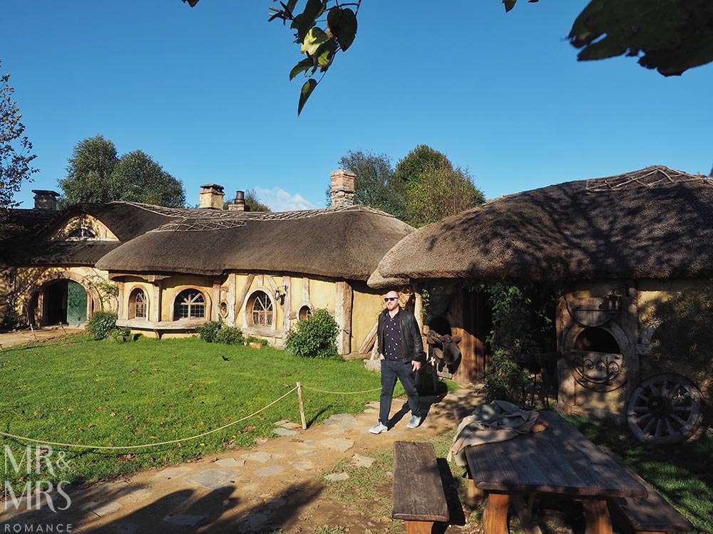 Hobbiton Movie Set, Waikato, New Zealand - The Green Dragon Inn