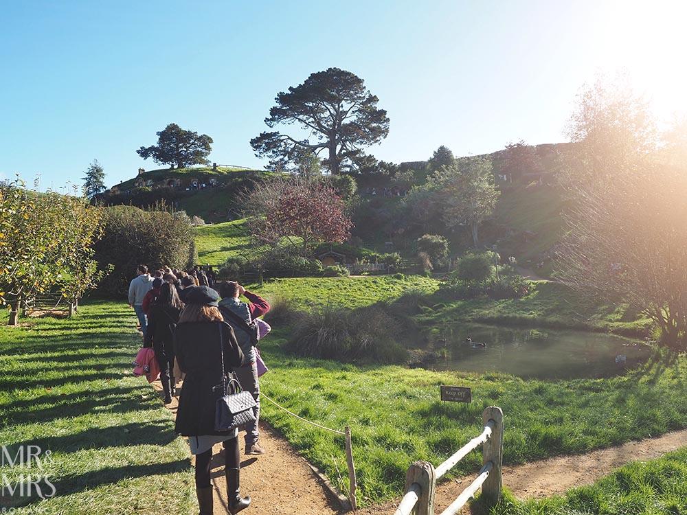 Hobbiton Movie Set, Waikato, New Zealand - tour