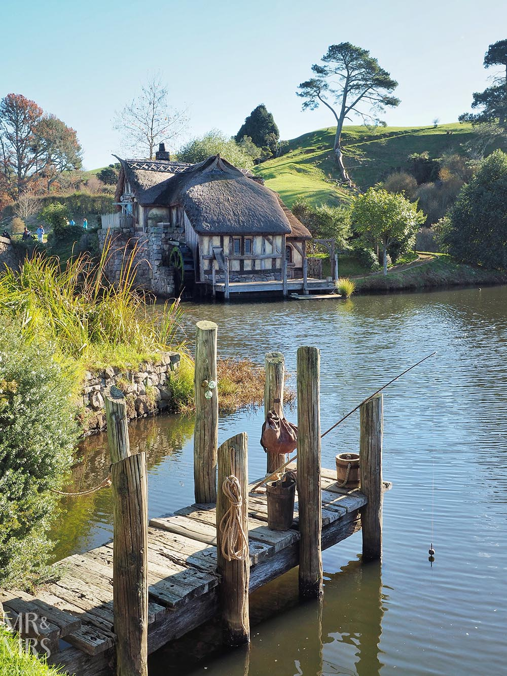 Hobbiton Movie Set, Waikato, New Zealand - fishing