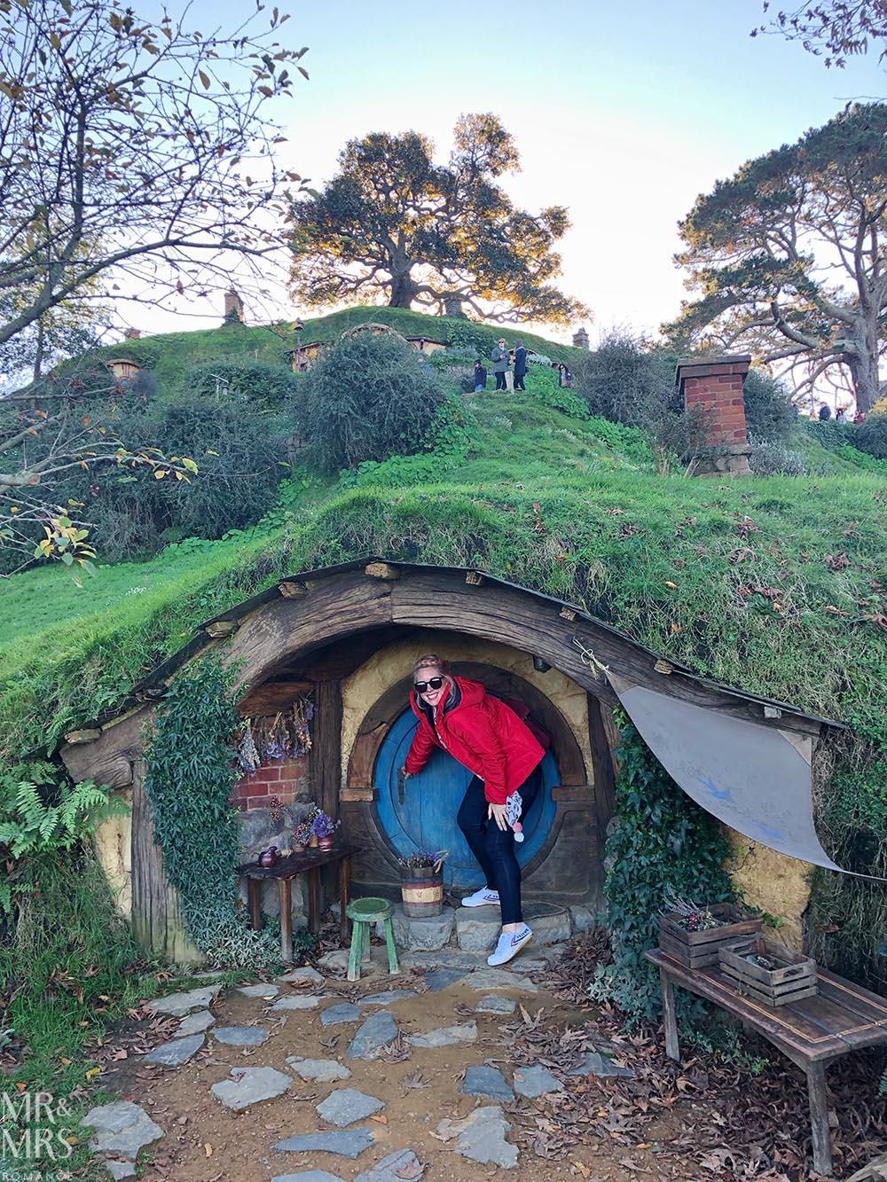 Hobbiton Movie Set, Waikato, New Zealand - hobbit hole