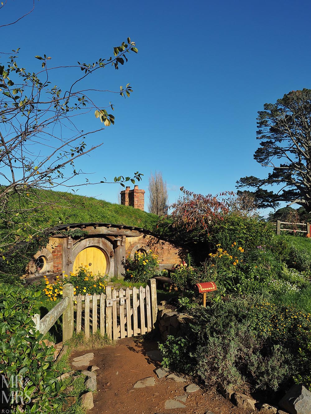 Hobbiton Movie Set, Waikato, New Zealand - hobbit hole