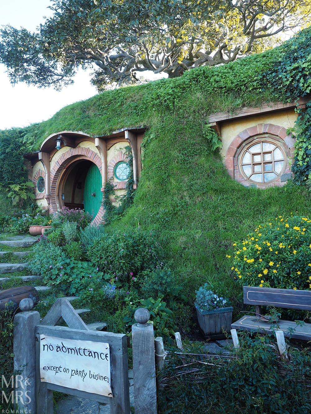 Hobbiton Movie Set, Waikato, New Zealand - Bag End