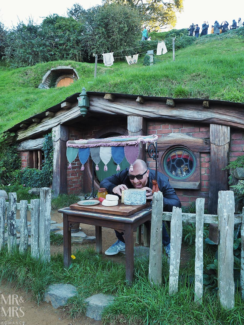 Hobbiton Movie Set, Waikato, New Zealand - cheese