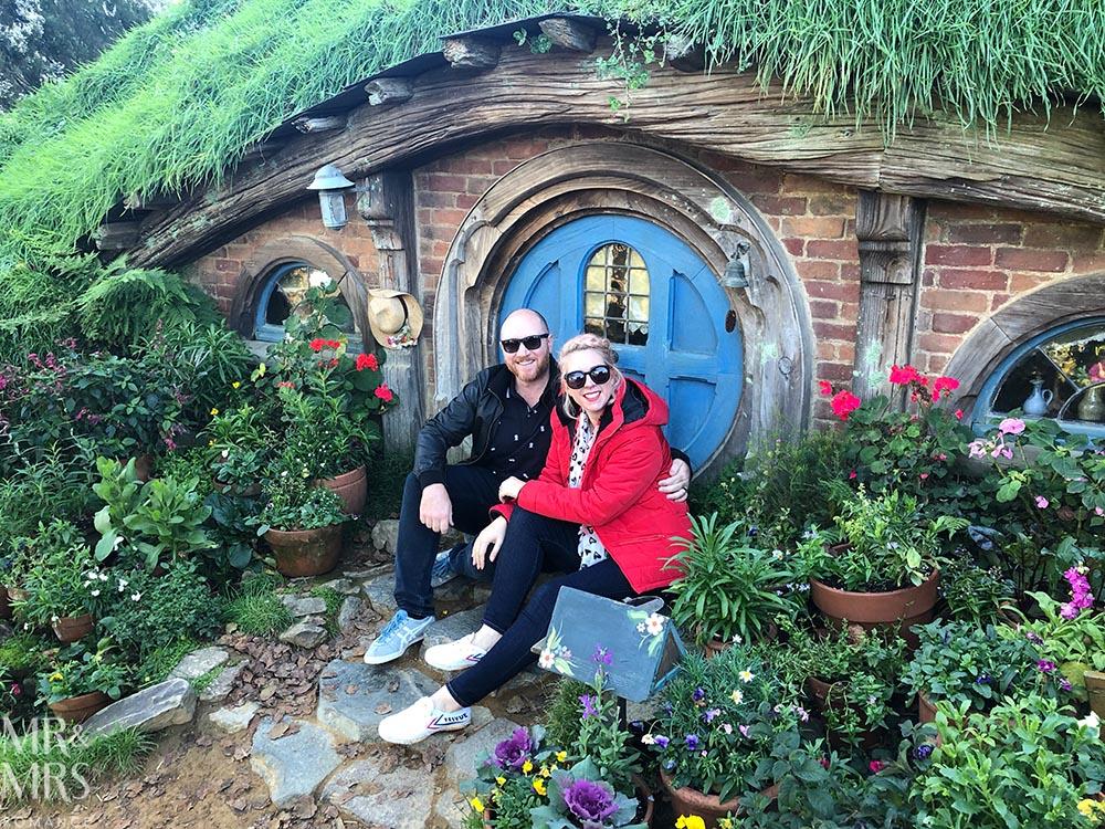 Hobbiton Movie Set, Waikato, New Zealand - us