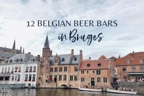 12 Belgian beer bars in Bruges