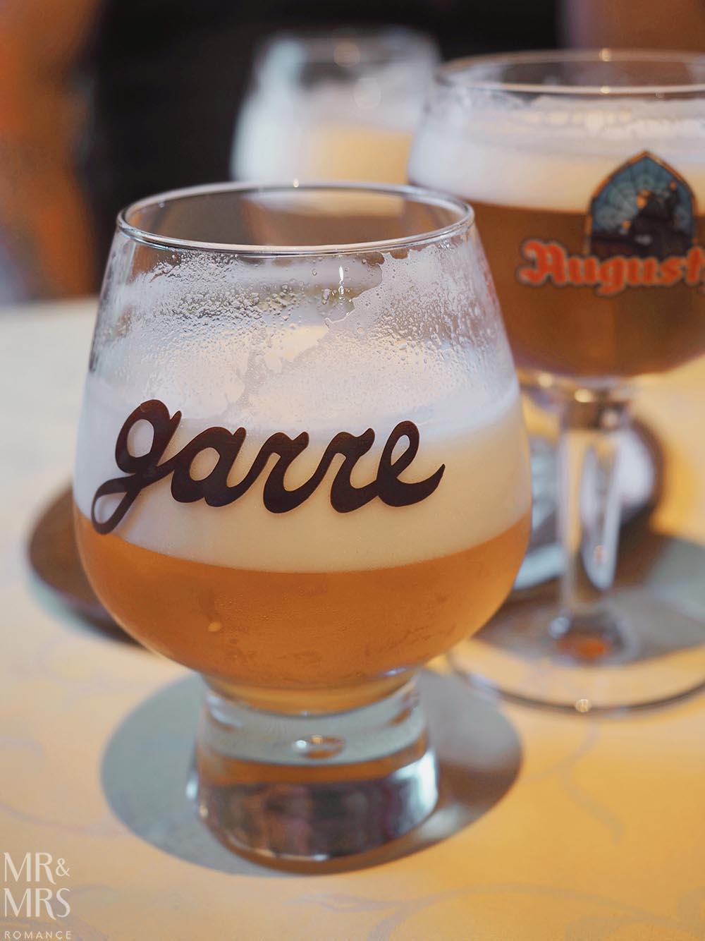Where to drink in Bruges - Belgian beers - De Garre
