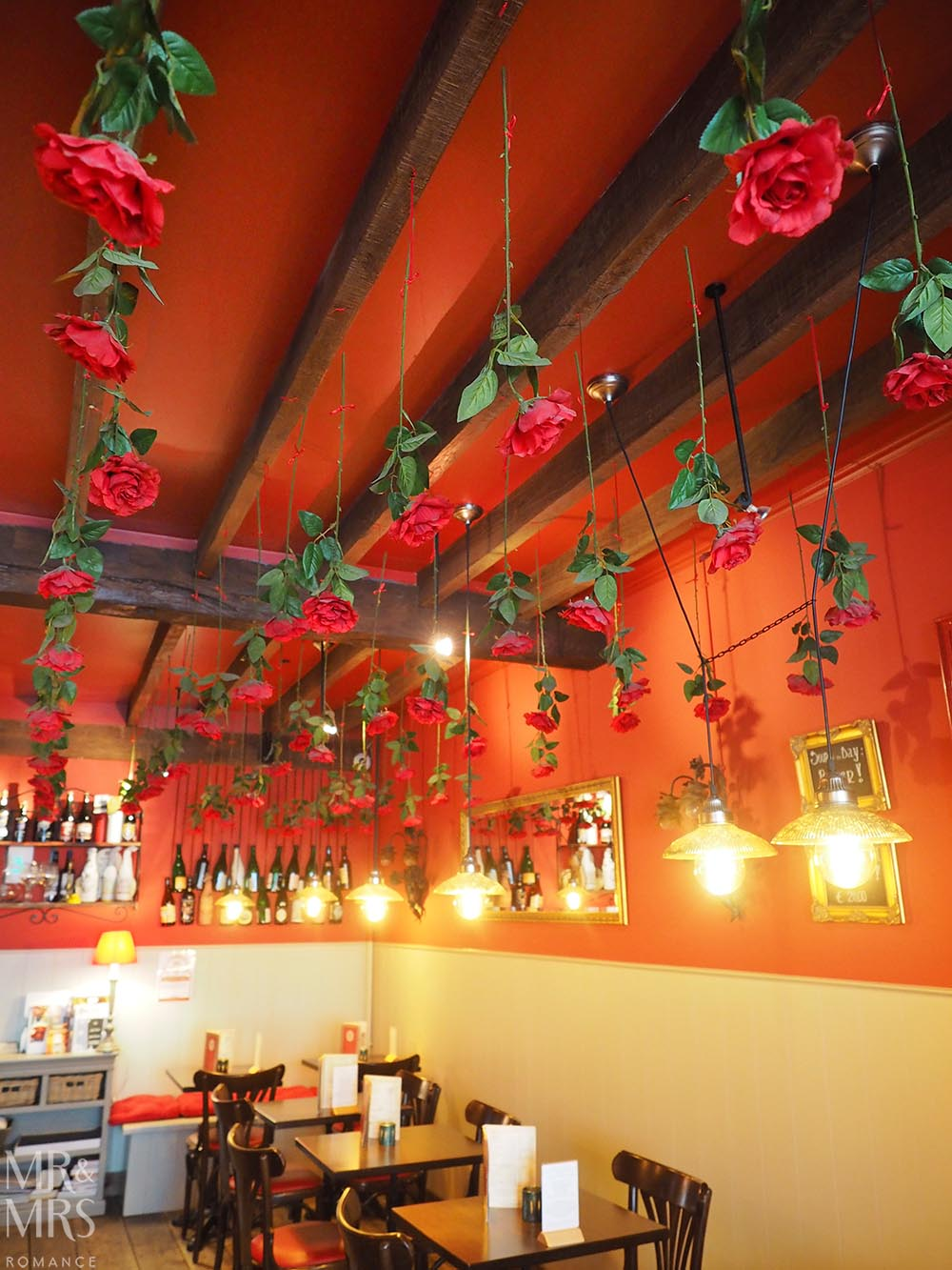 Where to drink in Bruges - Belgian beers - Roses Red