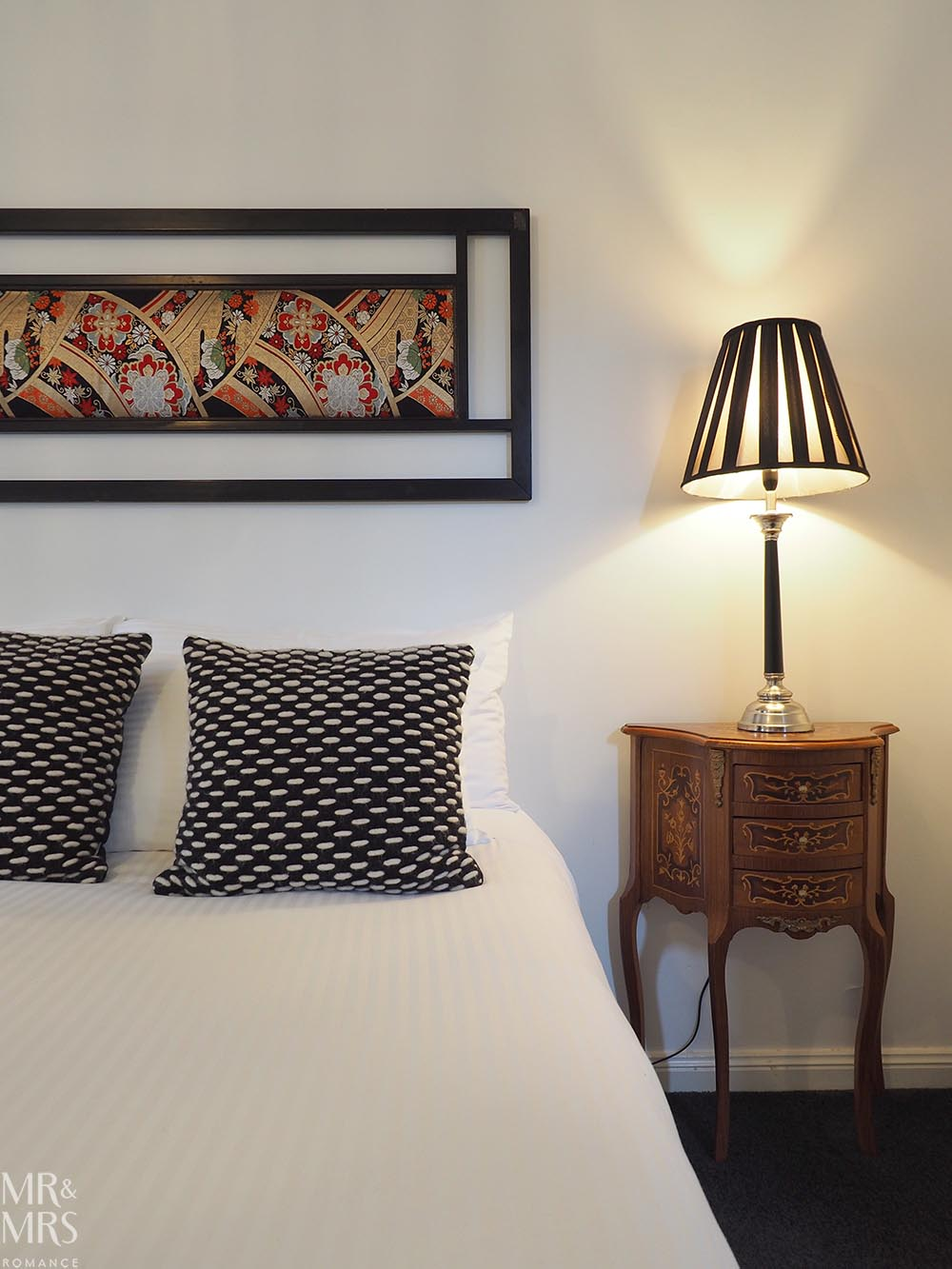 Where to stay in the Hunter Region, NSW - The Bronte Boutique Hotel, Morpeth - bed