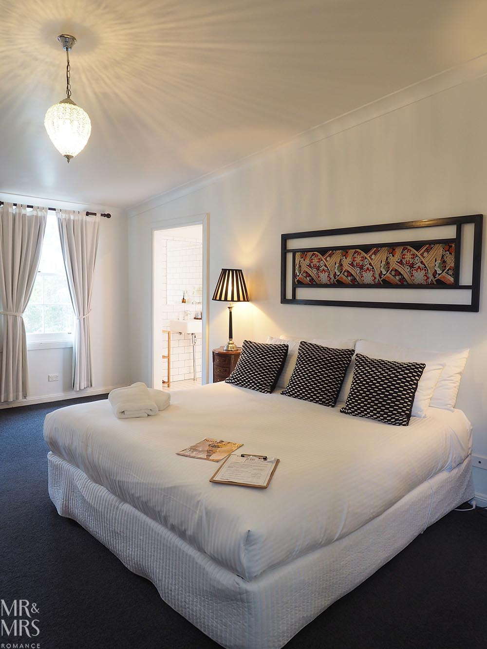 Where to stay in the Hunter Region, NSW - The Bronte Boutique Hotel, Morpeth - bedroom