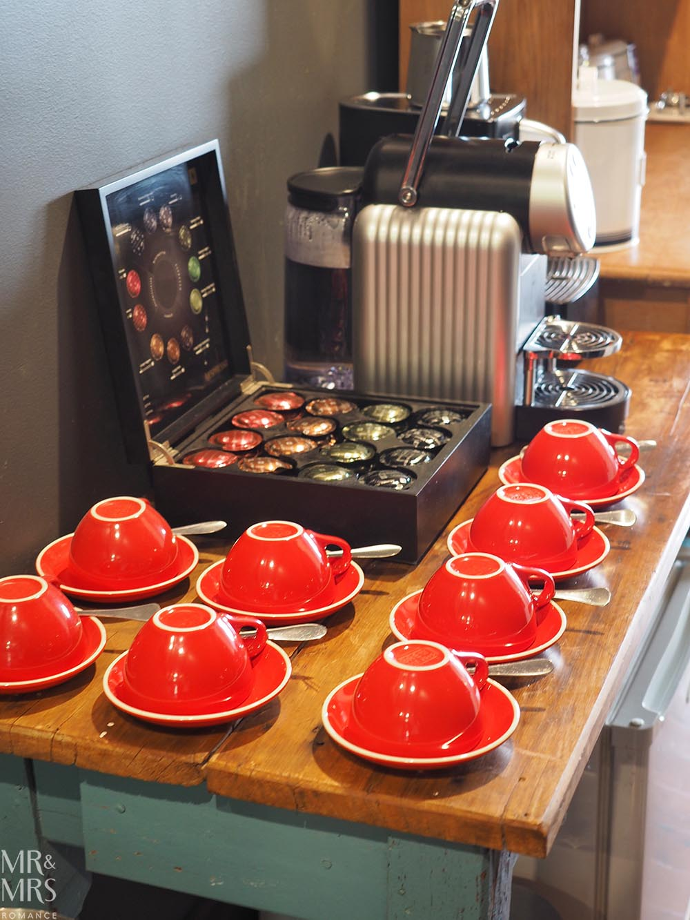 Where to stay in the Hunter Region, NSW - The Bronte Boutique Hotel, Morpeth - coffee station