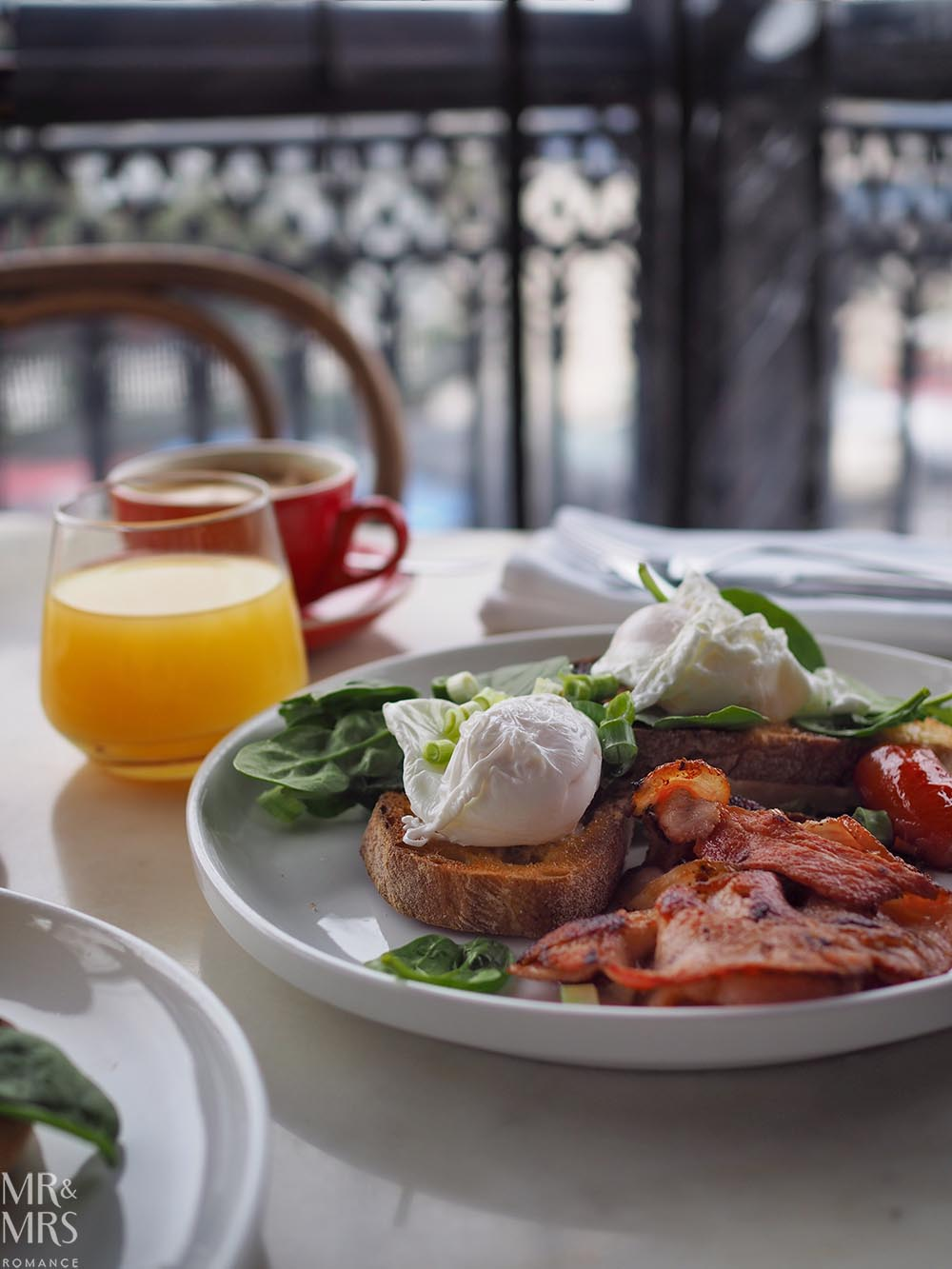 Where to stay in the Hunter Region, NSW - The Bronte Boutique Hotel, Morpeth - cooked breakfast