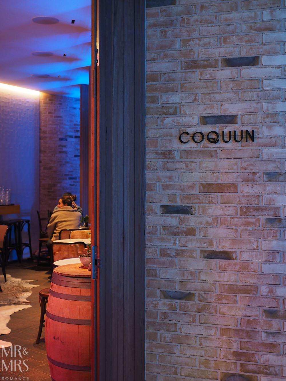 Coquun, Maitland - front door