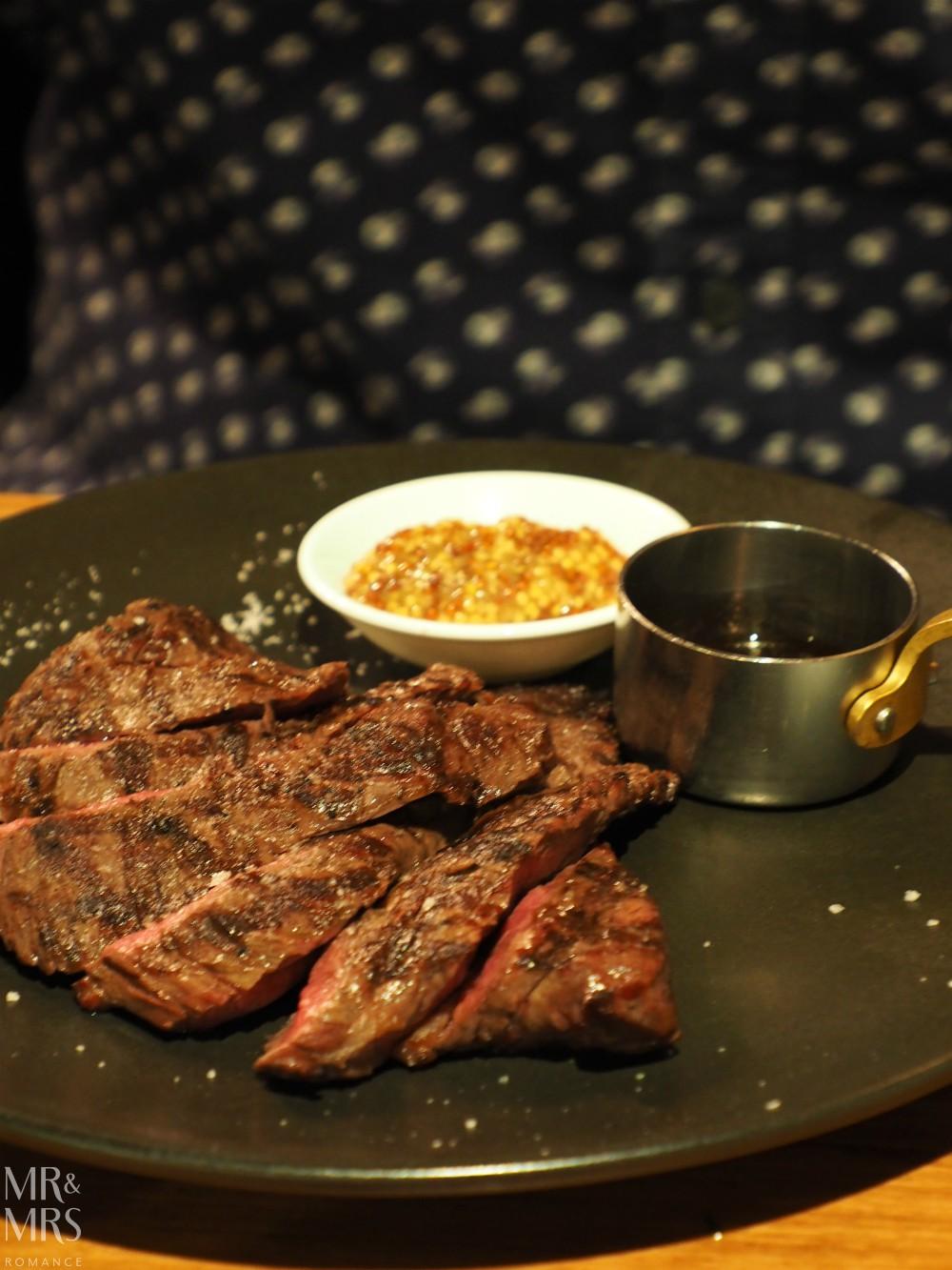 Le Petit Flot, Sydney - wagyu steak