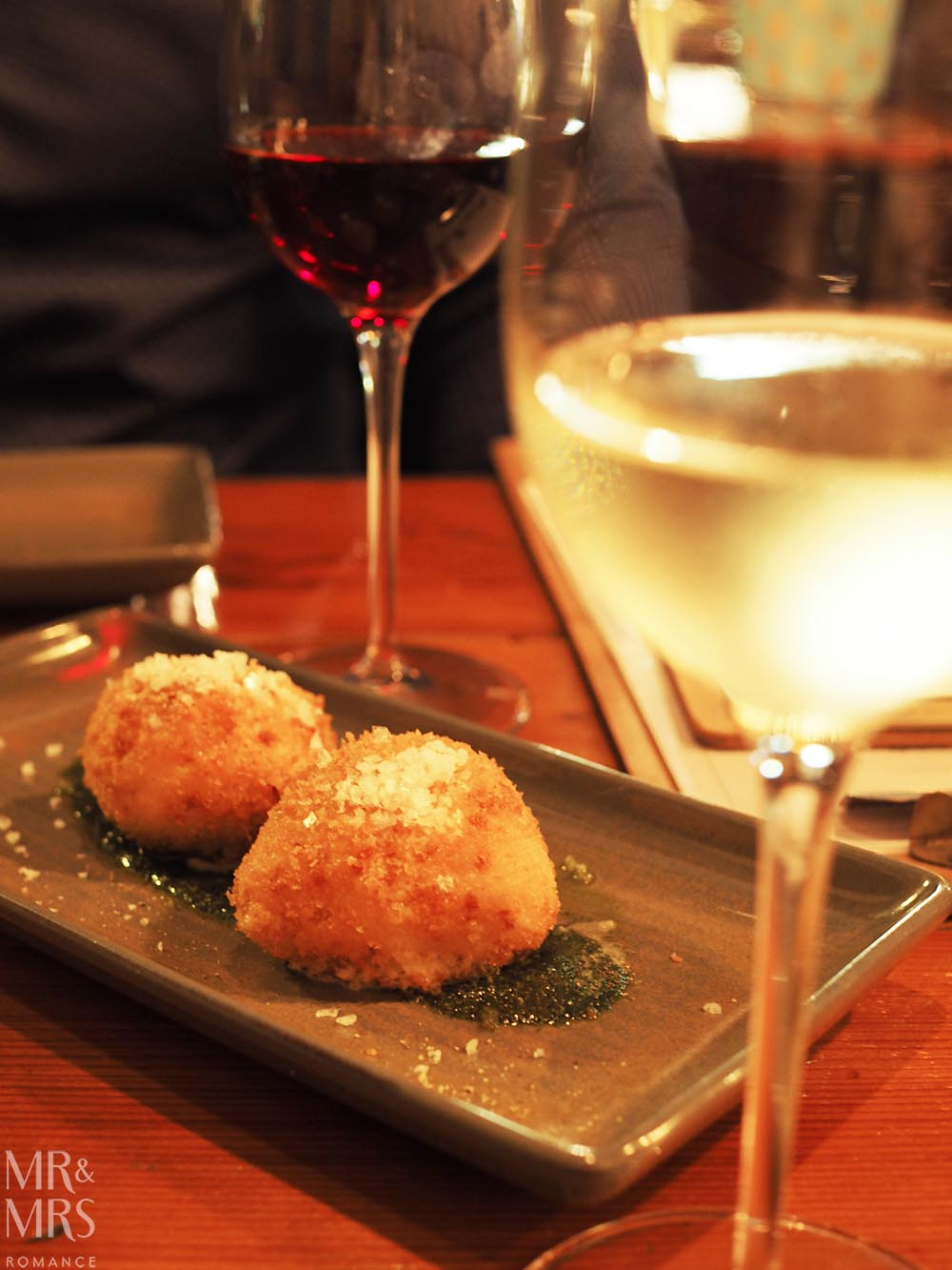 Where to eat in Maitland, NSW - The Rigby - fried mozzarella