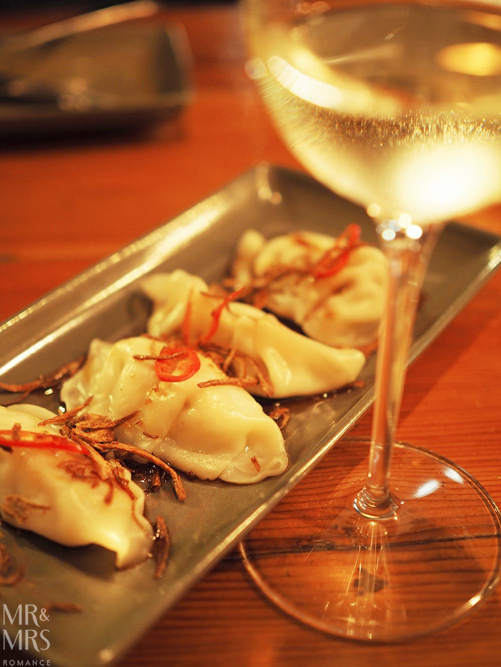 Where to eat in Maitland, NSW - The Rigby - prawn dumplings