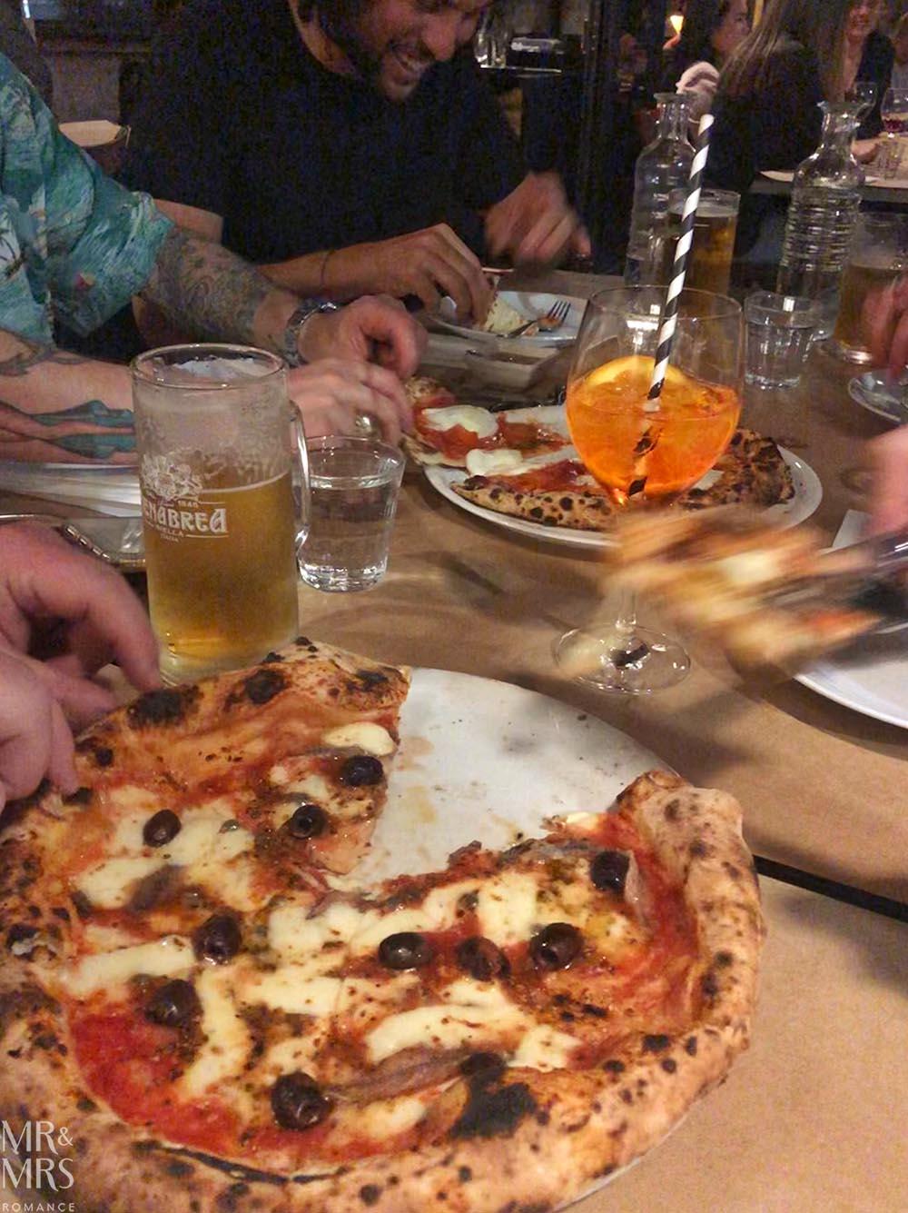 Da Mario pizza, Rosebury