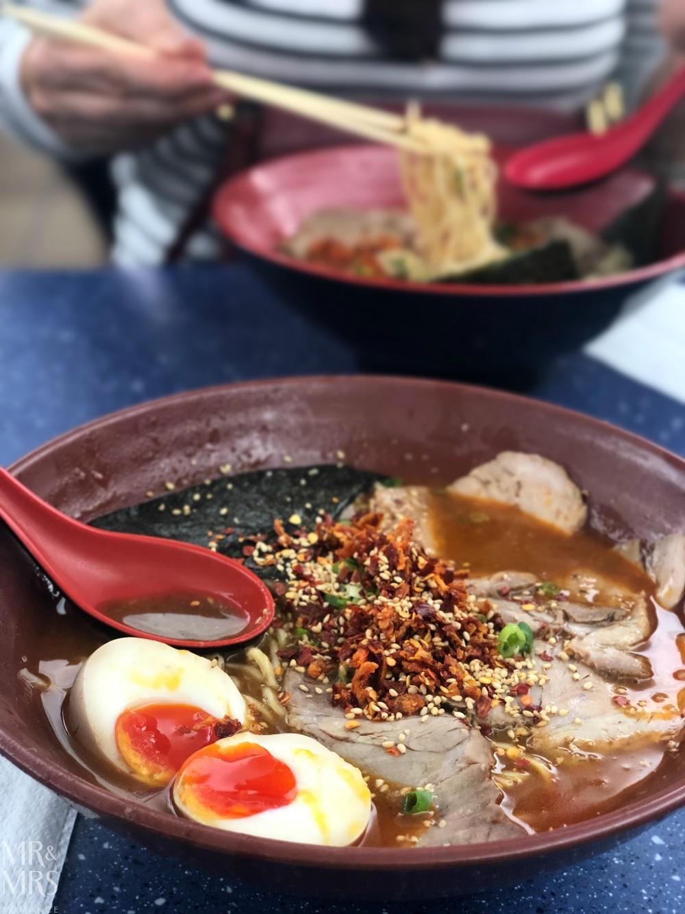 Gumshara Ramen spicy tonkotsu