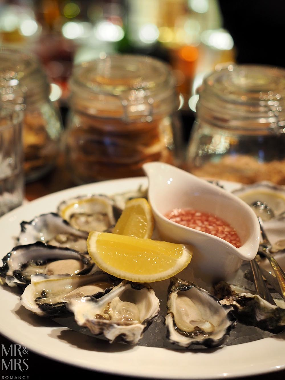 Oysters at Grain Bar, Four Seasons Sydney