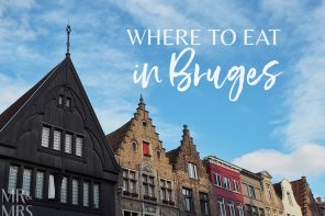 Where to eat in Bruges – a local guide