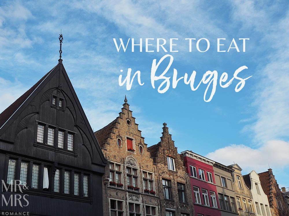 Where to eat in Bruges, Belgium -