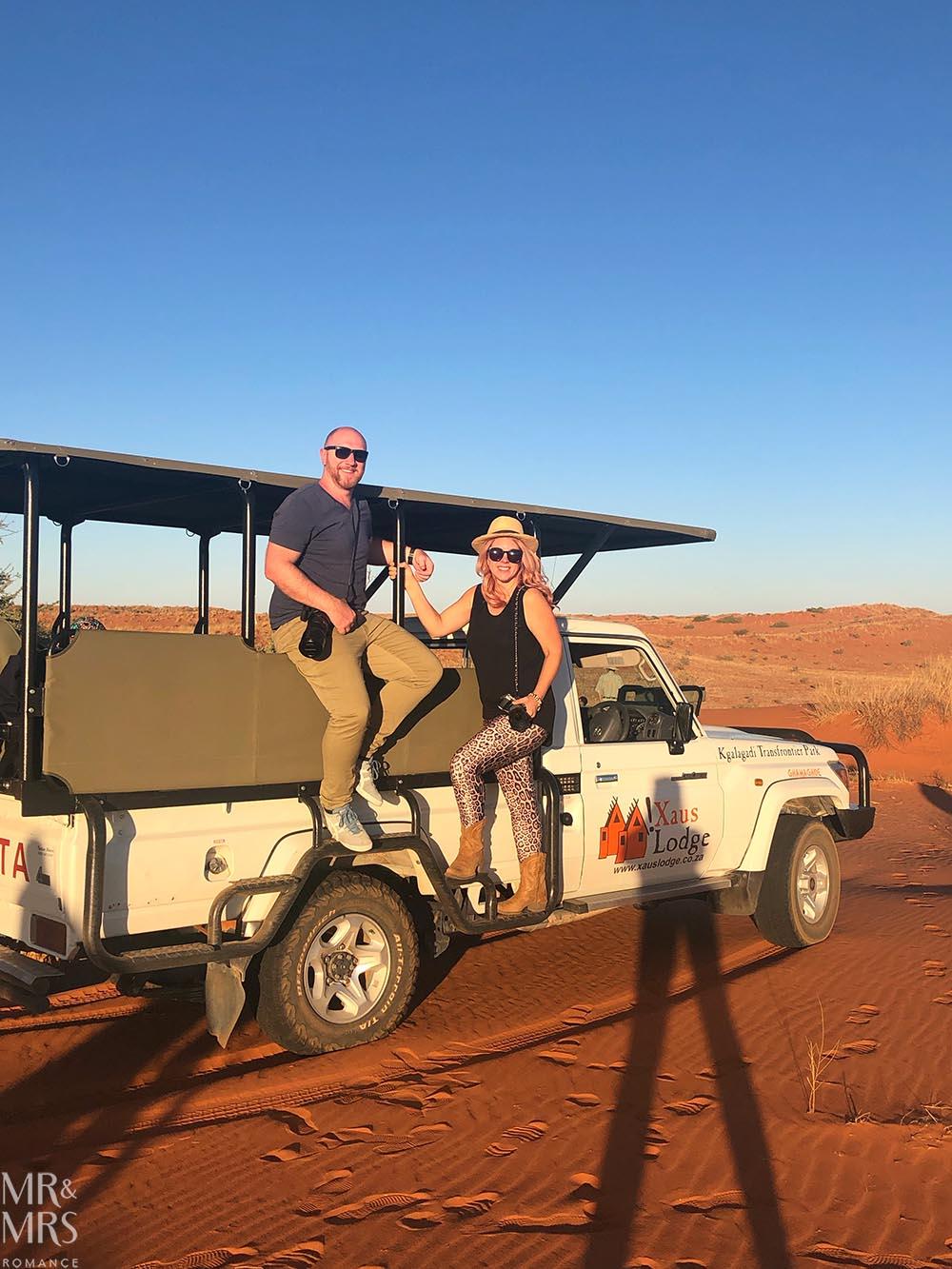 South Africa Tourism - sunset in the Kalahari