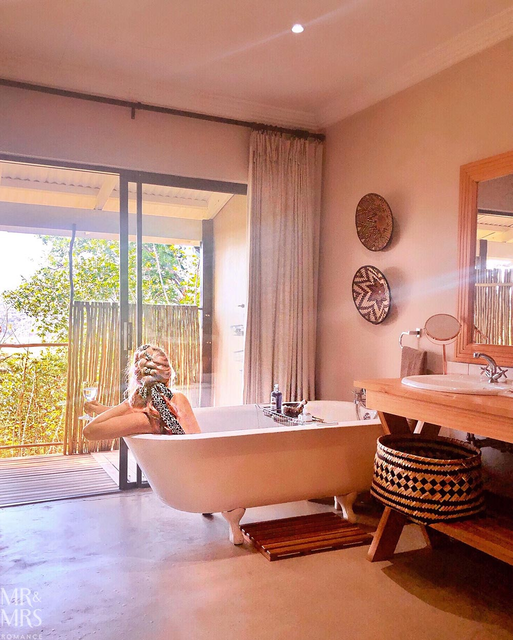 South Africa Tourism - Fugitives' Drift Lodge bath