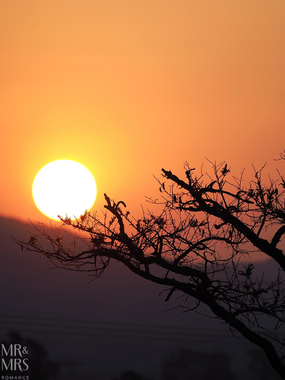 South Africa Tourism - sunset at Rorke's Drift