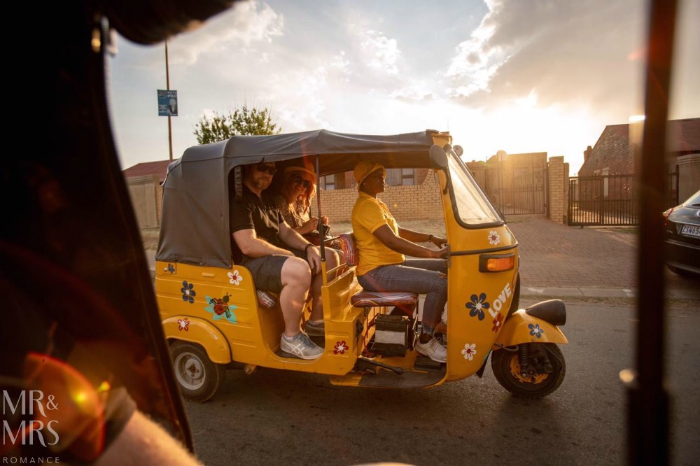 South Africa Tourism - tuk tuk tour of Soweto from Lebo's