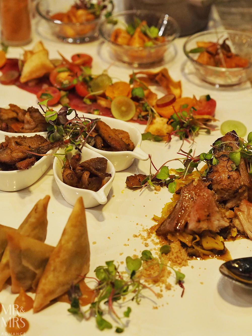 South Africa Tourism - dinner at Epicure by Coco, Johannesburg