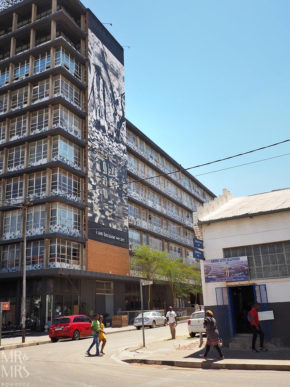 South Africa Tourism - street art tour Maboneng Johannesburg
