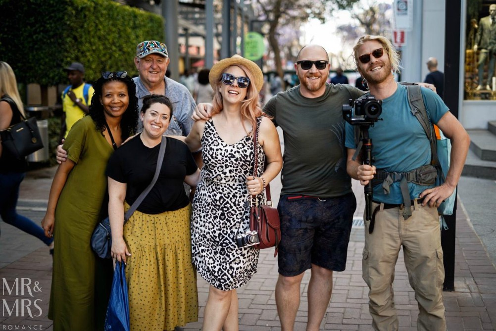 South Africa Tourism - the gang
