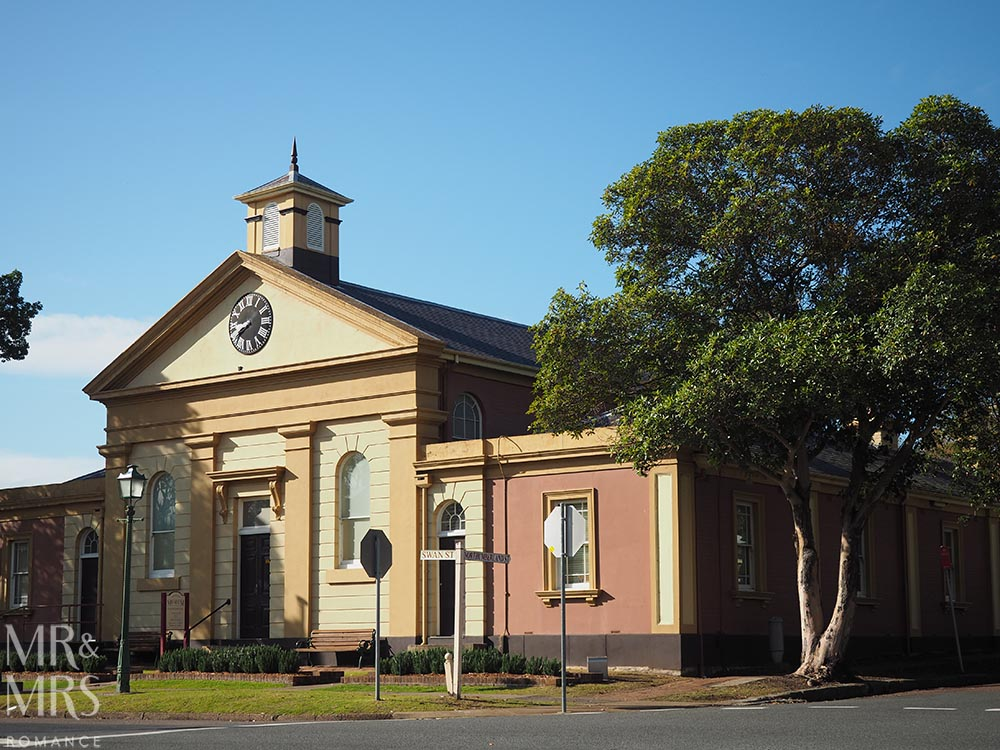 Town Hall Morpeth, NSW