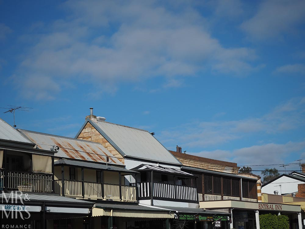 Morpeth roofs, NSW
