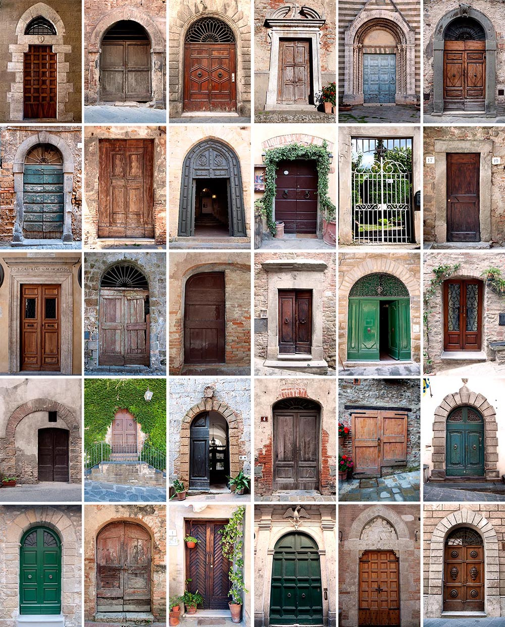 Photography Romance - all the doors