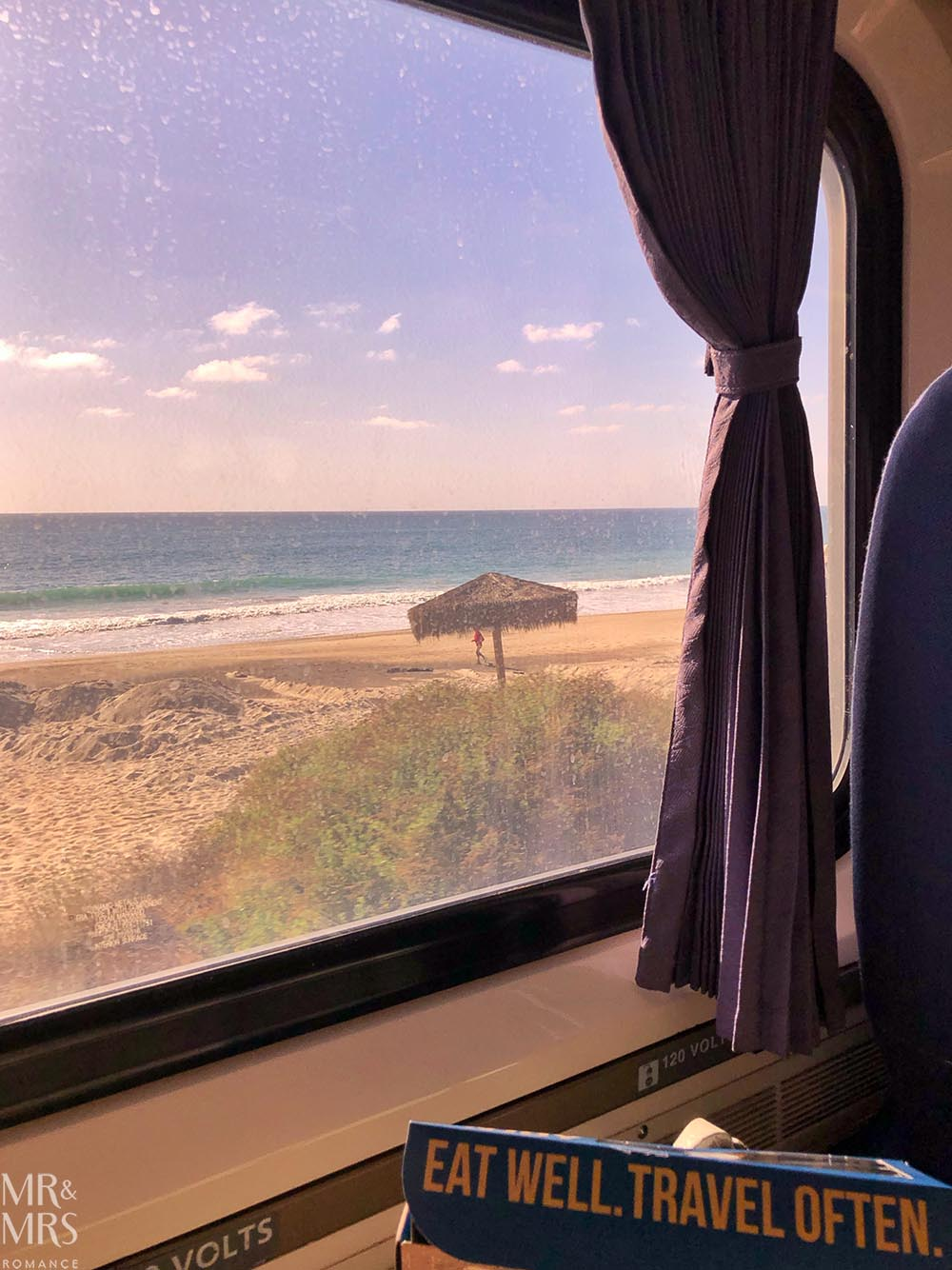 Surfliner Amtrax, San Diego to LAX