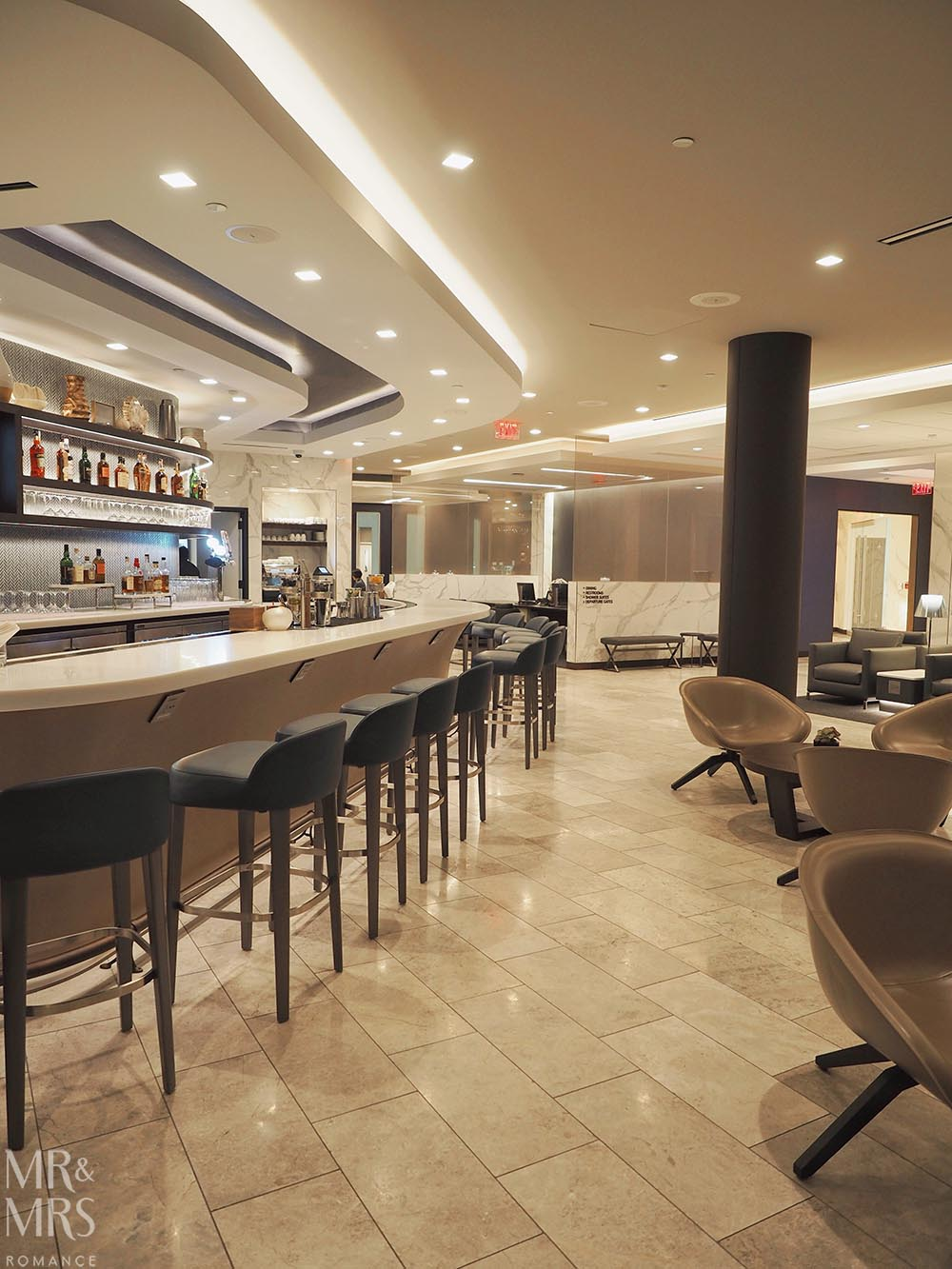 Polaris Business Class Lounge, LAX